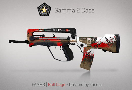 famas roll cage