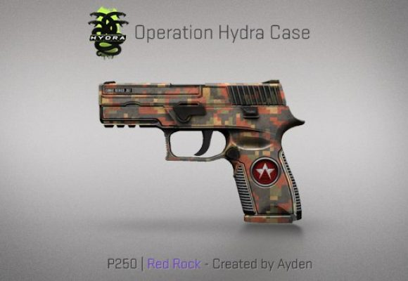 P250 Red Rock