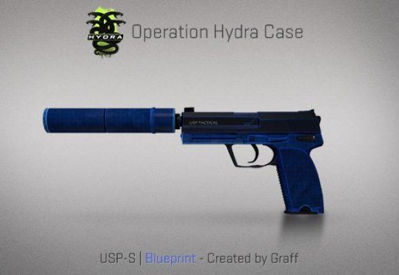 USP-S Blueprint